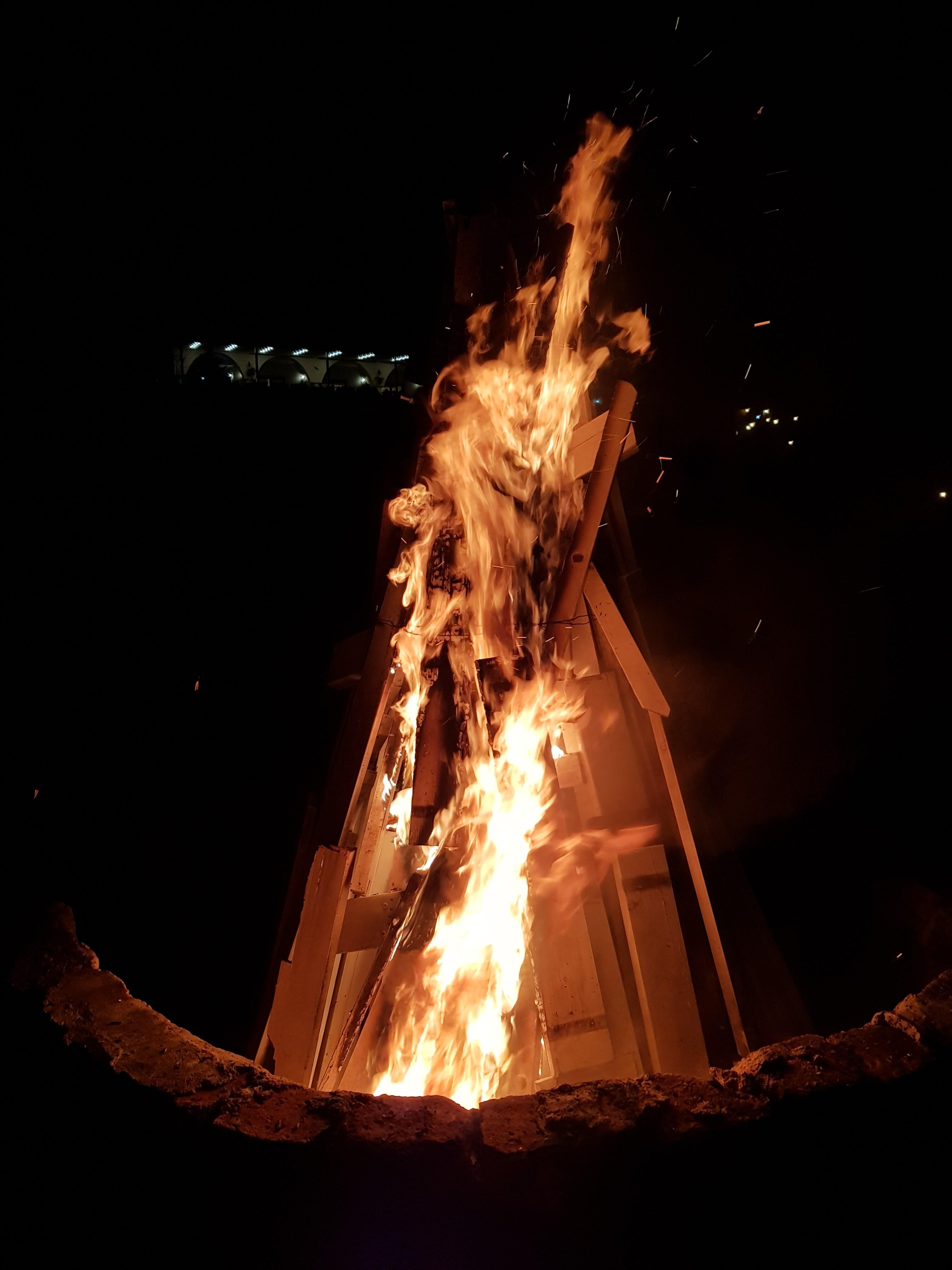 teambuilding foc de tabara